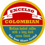Real Deal Roasters badge for this Colombian coffee