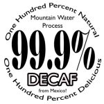 Mountain Water Decaf Coffee