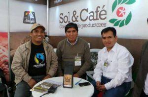 Sol y Cafe Peruvian fair trade coffee producers